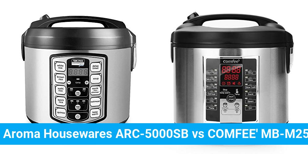 Aroma Housewares ARC-5000SB vs COMFEE' MB-M25
