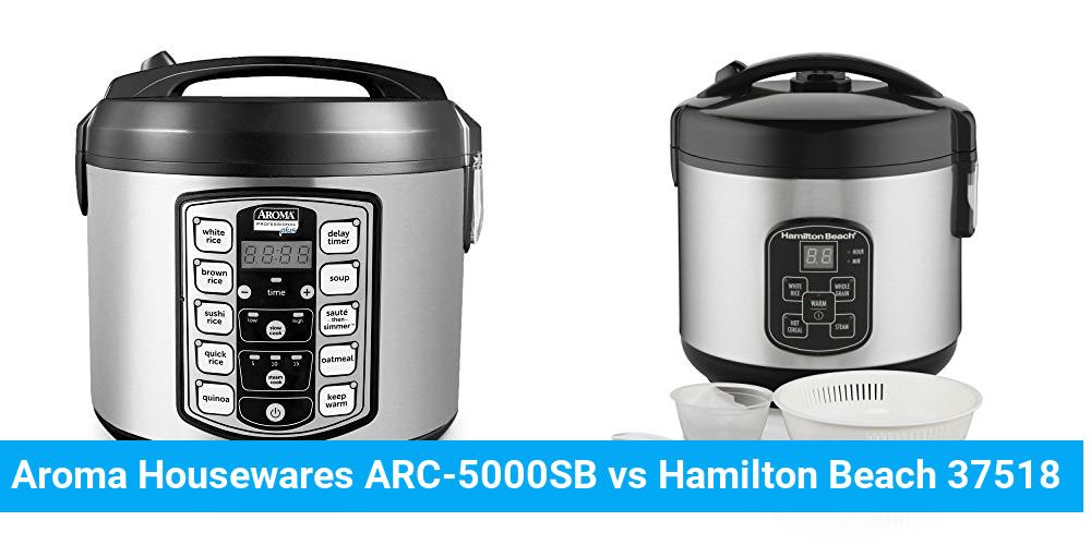 Aroma Housewares ARC-5000SB vs Hamilton Beach 37518