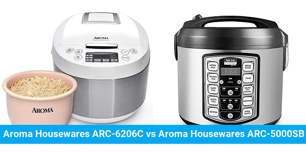 Aroma Housewares ARC-6206C vs Aroma Housewares ARC-5000SB