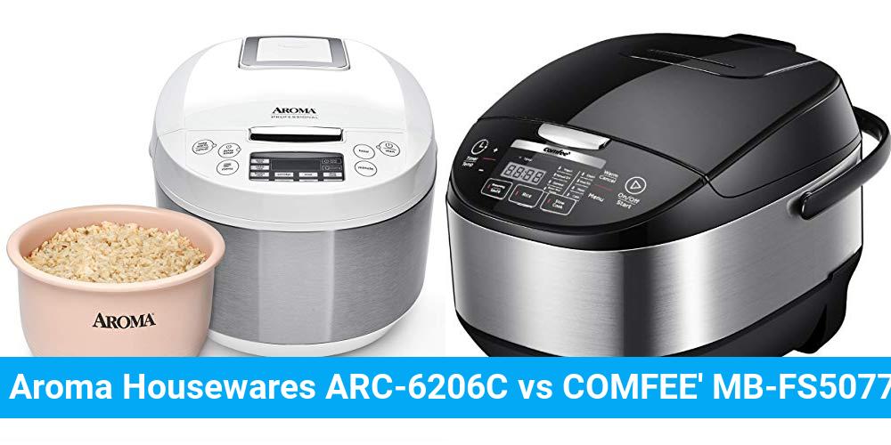 Aroma Housewares ARC-6206C vs COMFEE' MB-FS5077