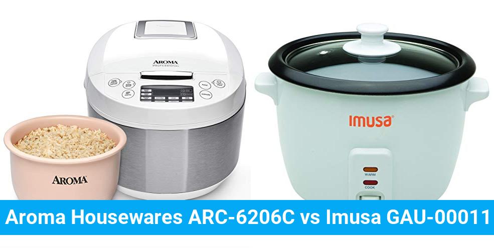 Aroma Housewares ARC-6206C vs Imusa GAU-00011