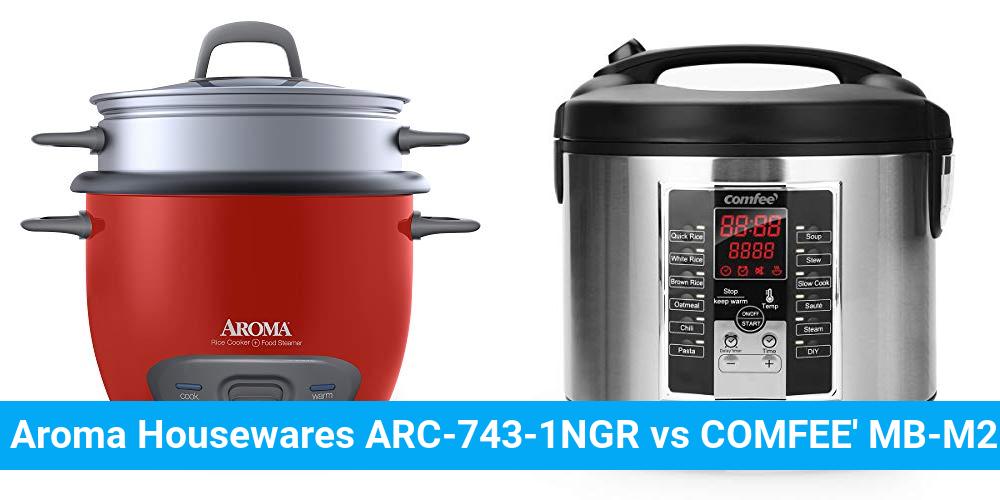 Aroma Housewares ARC-743-1NGR vs COMFEE' MB-M25