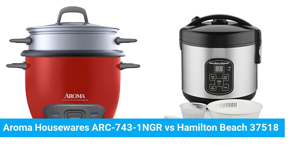 Aroma Housewares ARC-743-1NGR vs Hamilton Beach 37518