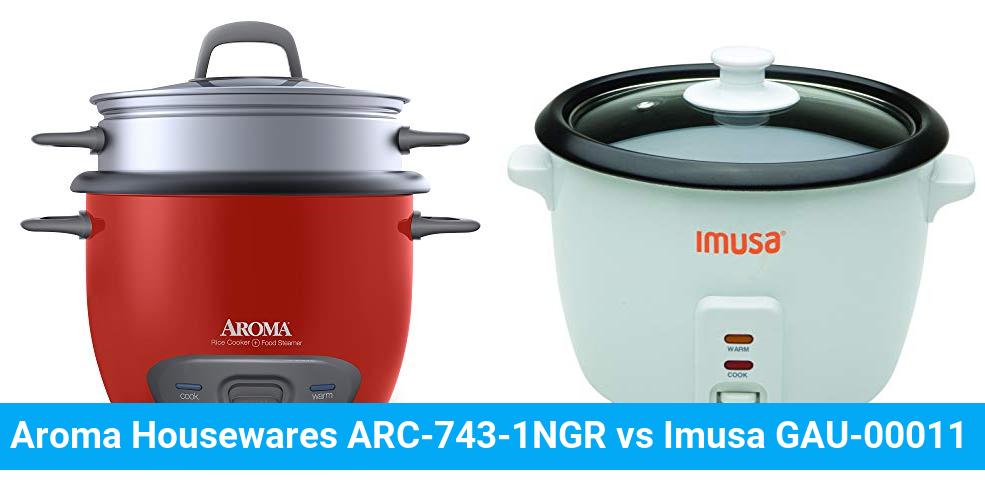 Aroma Housewares ARC-743-1NGR vs Imusa GAU-00011