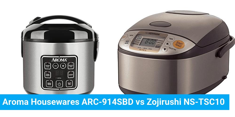 Aroma Housewares ARC-914SBD vs Zojirushi NS-TSC10