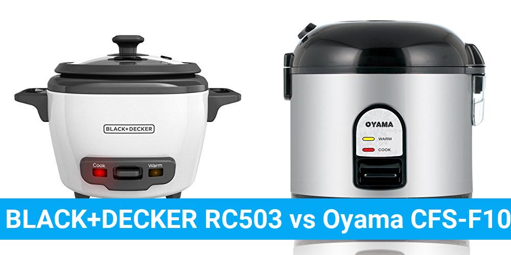 BLACK+DECKER RC503 vs Oyama CFS-F10B