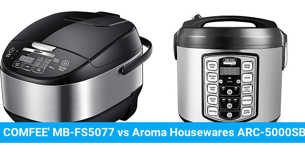 COMFEE' MB-FS5077 vs Aroma Housewares ARC-5000SB