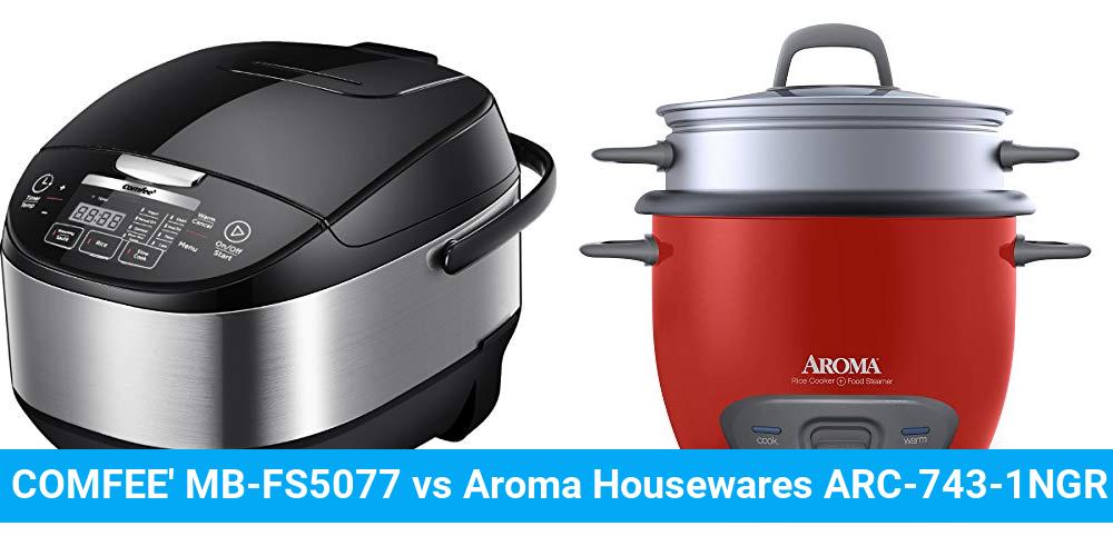 COMFEE' MB-FS5077 vs Aroma Housewares ARC-743-1NGR