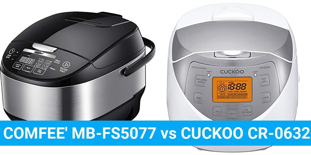 COMFEE' MB-FS5077 vs CUCKOO CR-0632F