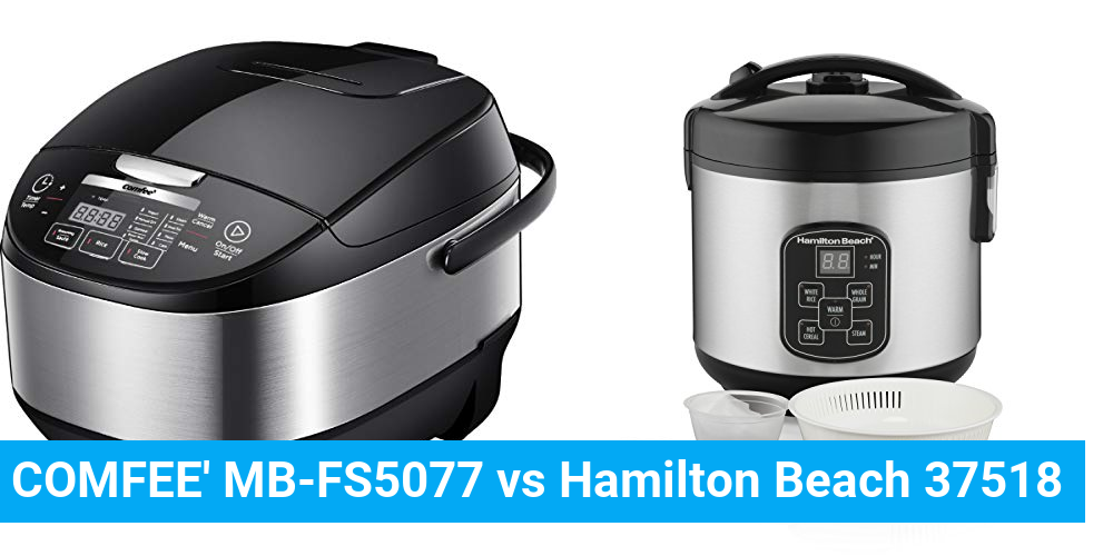 COMFEE' MB-FS5077 vs Hamilton Beach 37518