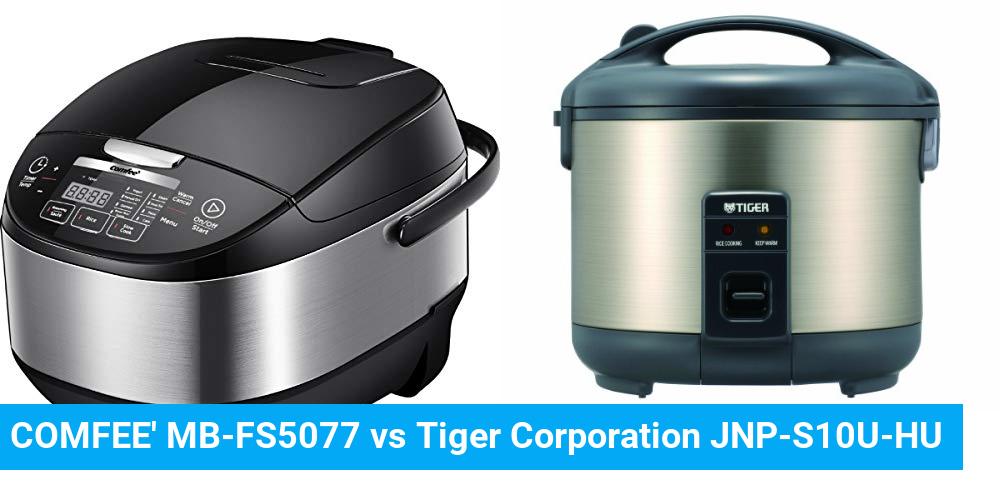 COMFEE' MB-FS5077 vs Tiger Corporation JNP-S10U-HU