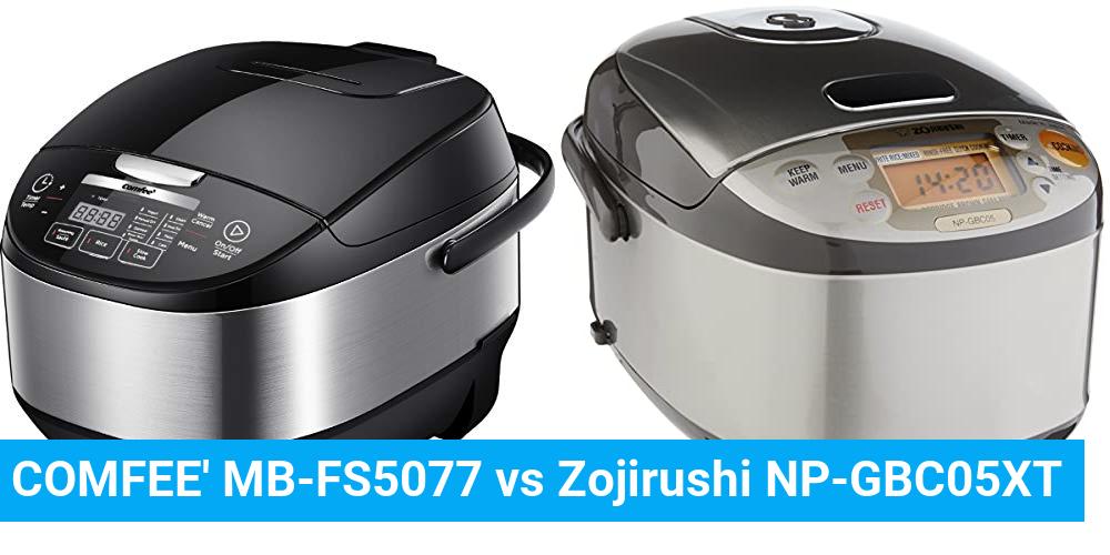 COMFEE' MB-FS5077 vs Zojirushi NP-GBC05XT