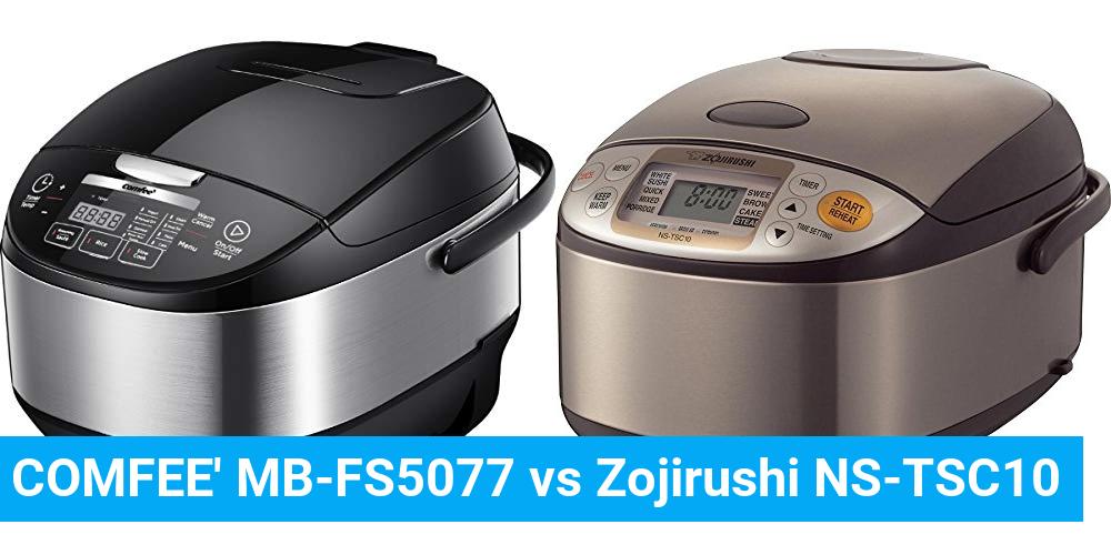 COMFEE' MB-FS5077 vs Zojirushi NS-TSC10
