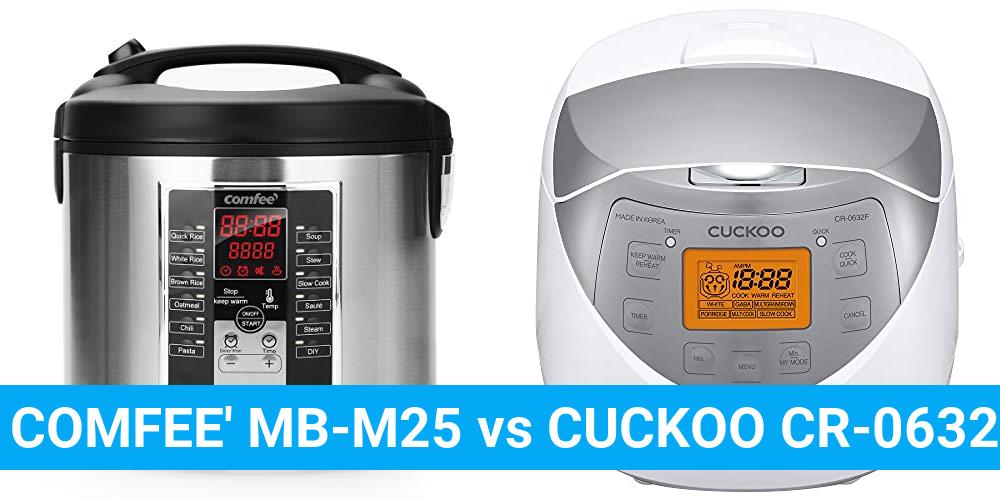 COMFEE' MB-M25 vs CUCKOO CR-0632F