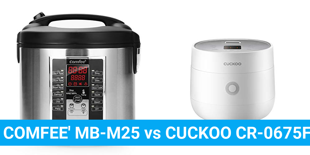 COMFEE' MB-M25 vs CUCKOO CR-0675FW
