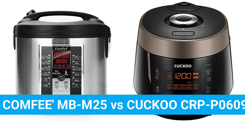 COMFEE' MB-M25 vs CUCKOO CRP-P0609S