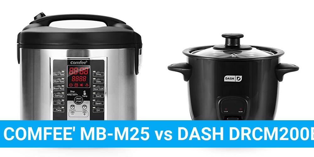COMFEE' MB-M25 vs DASH DRCM200BK
