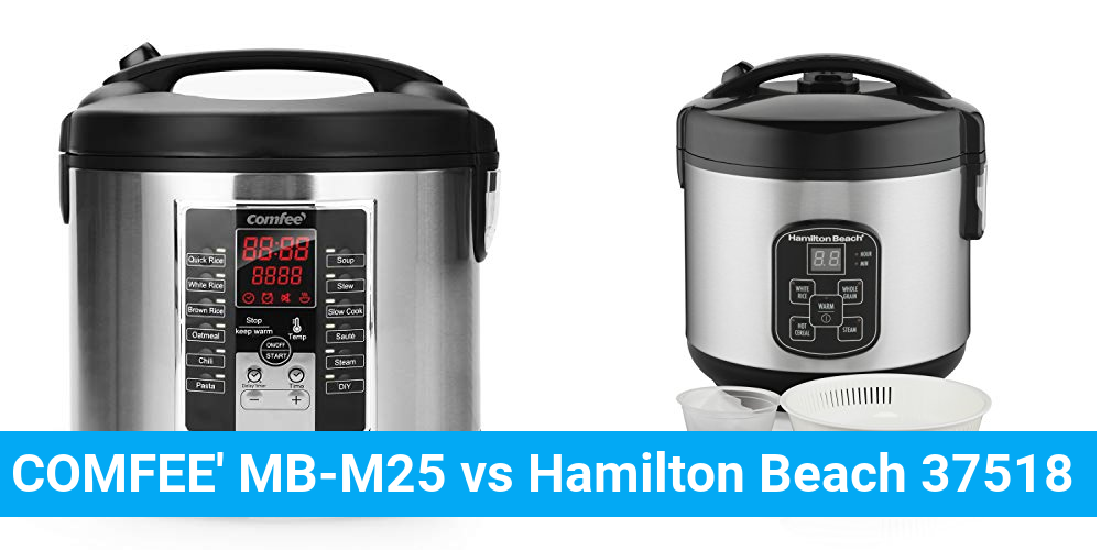 COMFEE' MB-M25 vs Hamilton Beach 37518