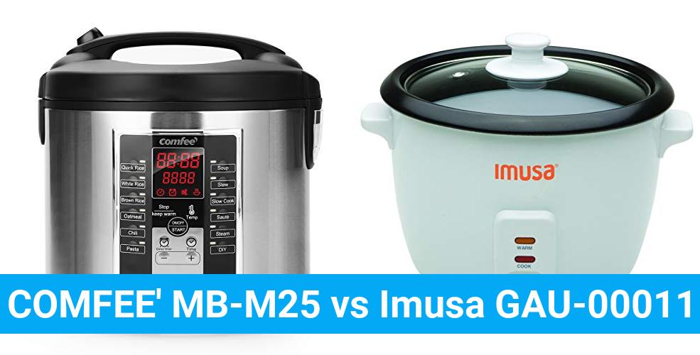 COMFEE' MB-M25 vs Imusa GAU-00011