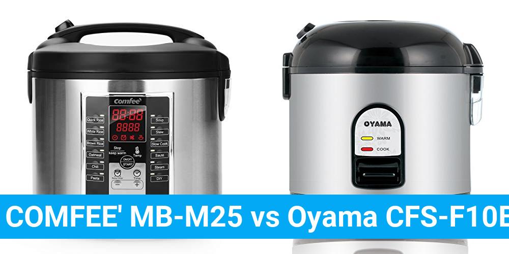 COMFEE' MB-M25 vs Oyama CFS-F10B