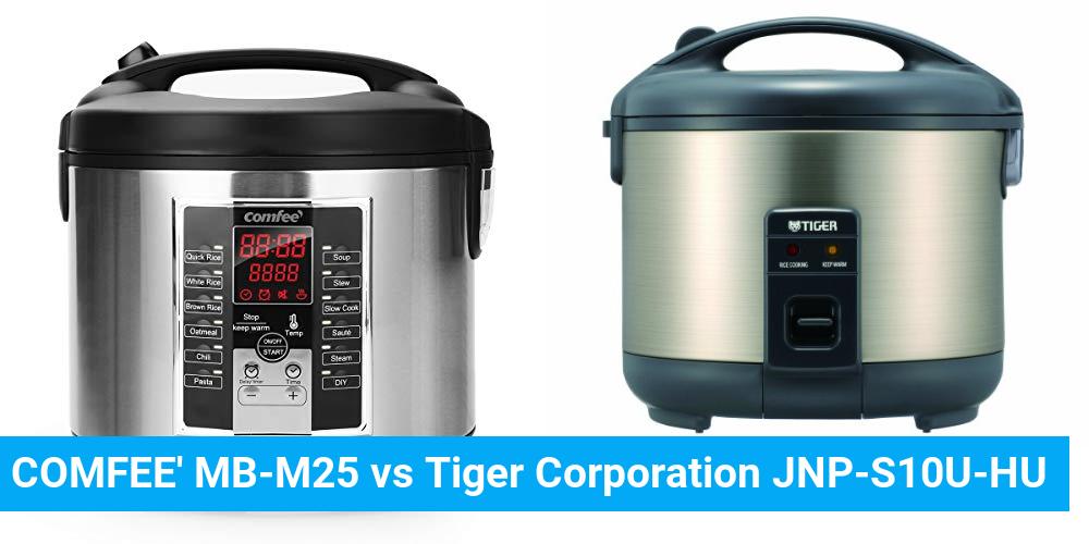 COMFEE' MB-M25 vs Tiger Corporation JNP-S10U-HU