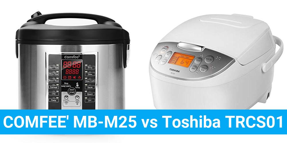 COMFEE' MB-M25 vs Toshiba TRCS01