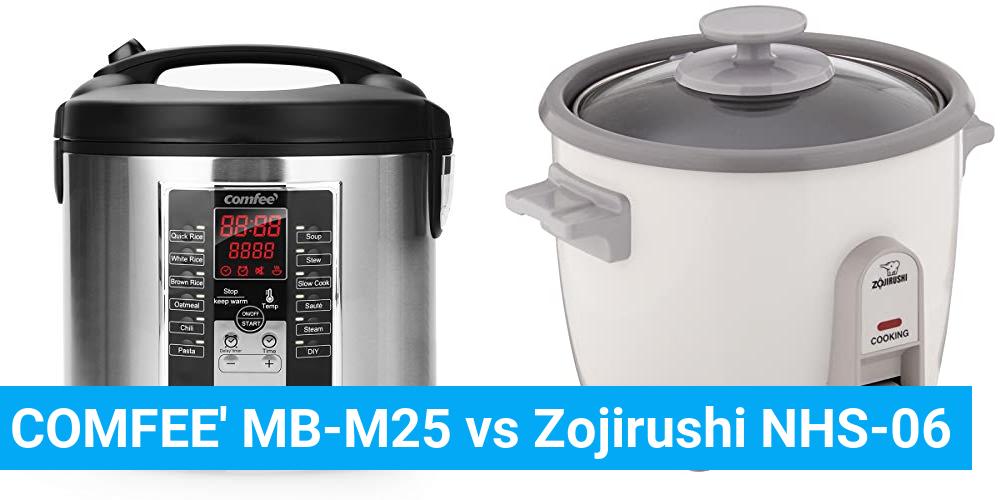 COMFEE' MB-M25 vs Zojirushi NHS-06