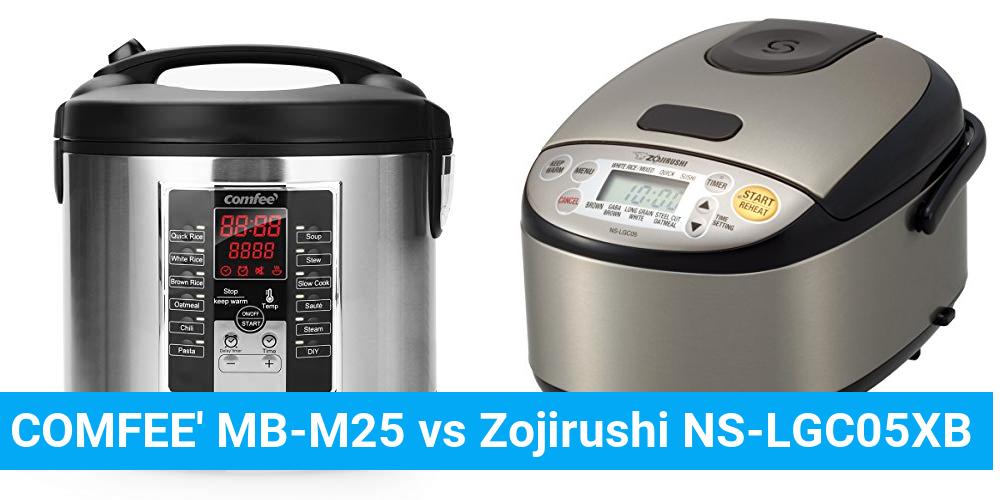 COMFEE' MB-M25 vs Zojirushi NS-LGC05XB