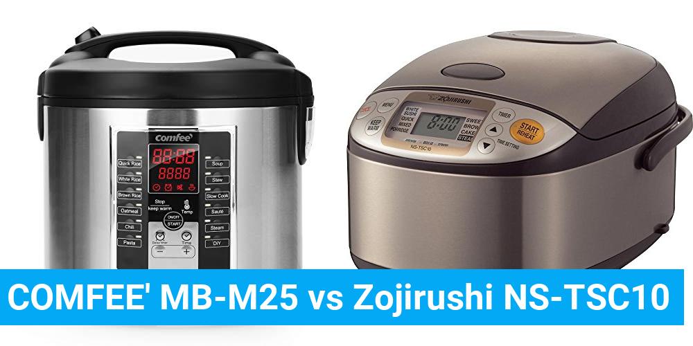COMFEE' MB-M25 vs Zojirushi NS-TSC10