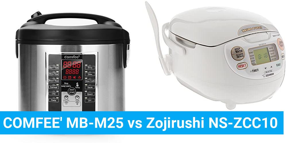 COMFEE' MB-M25 vs Zojirushi NS-ZCC10