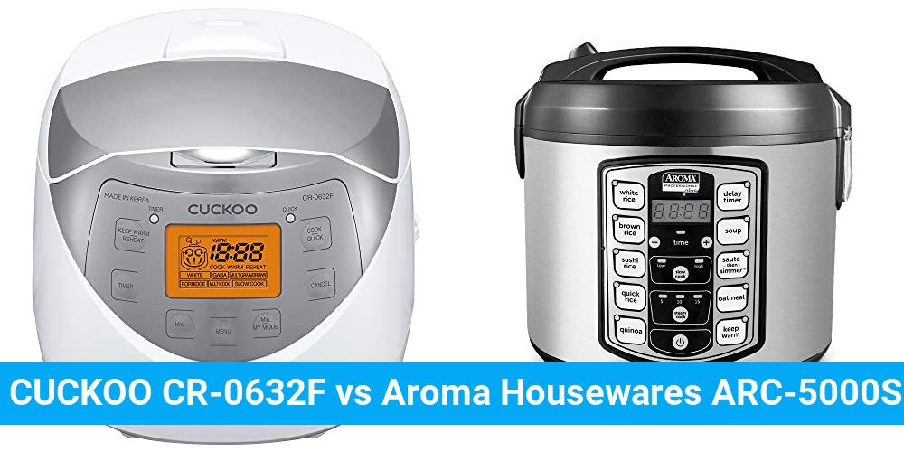 CUCKOO CR-0632F vs Aroma Housewares ARC-5000SB