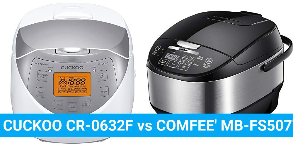 CUCKOO CR-0632F vs COMFEE' MB-FS5077
