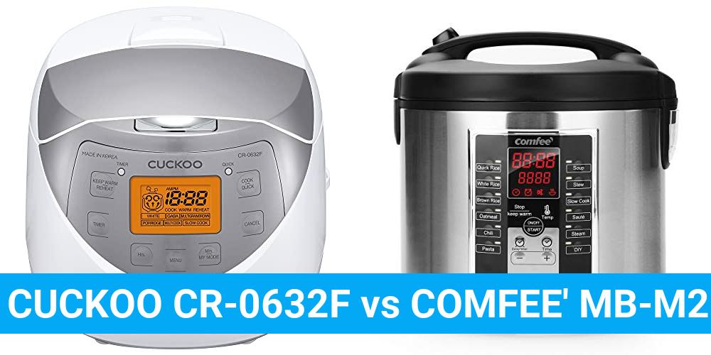 CUCKOO CR-0632F vs COMFEE' MB-M25