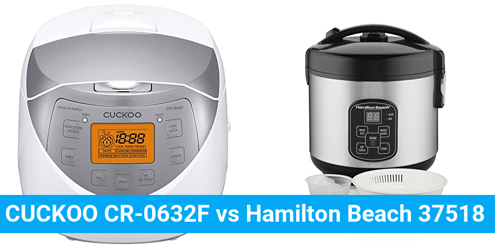 CUCKOO CR-0632F vs Hamilton Beach 37518
