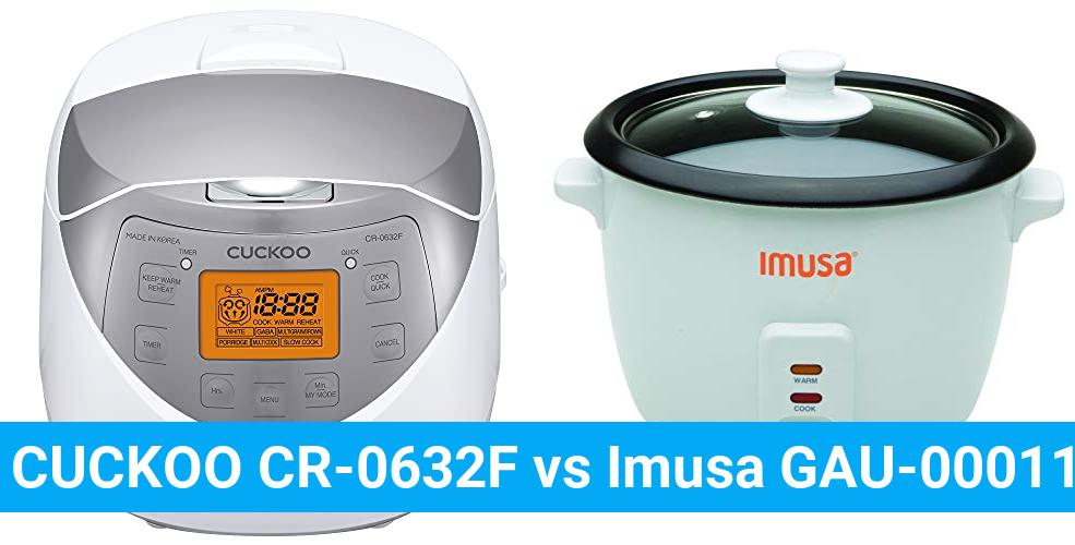 CUCKOO CR-0632F vs Imusa GAU-00011