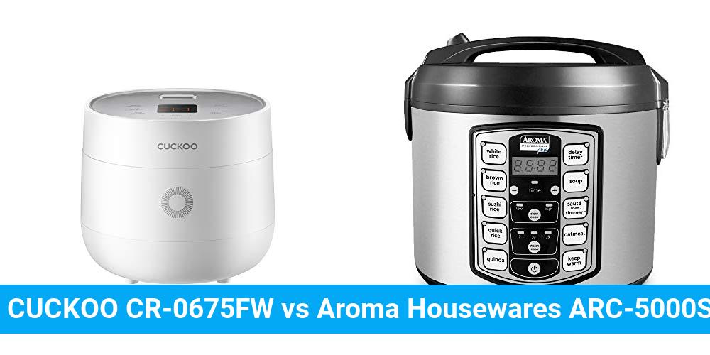 CUCKOO CR-0675FW vs Aroma Housewares ARC-5000SB