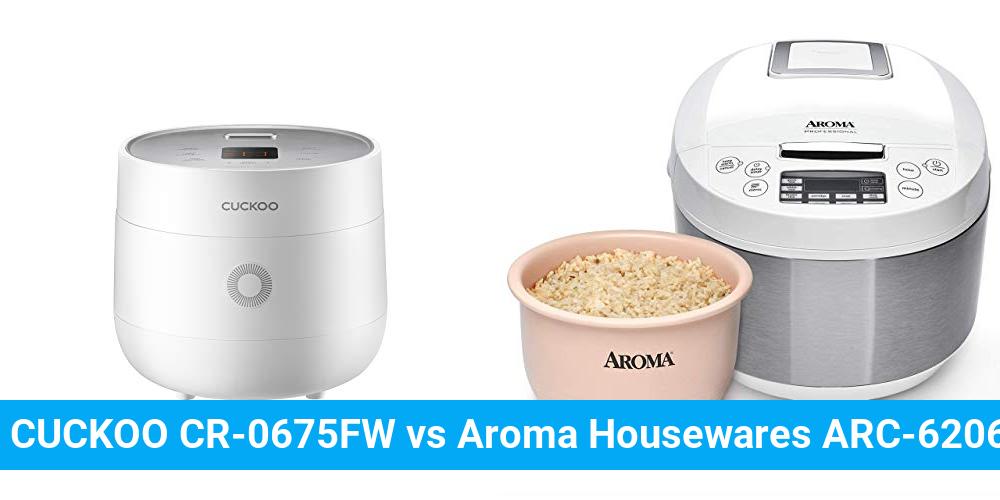 CUCKOO CR-0675FW vs Aroma Housewares ARC-6206C