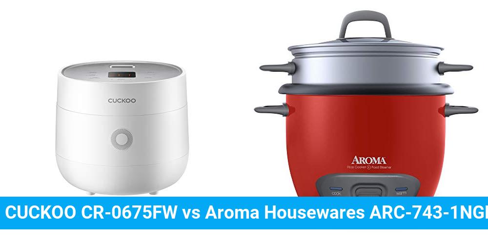 CUCKOO CR-0675FW vs Aroma Housewares ARC-743-1NGR