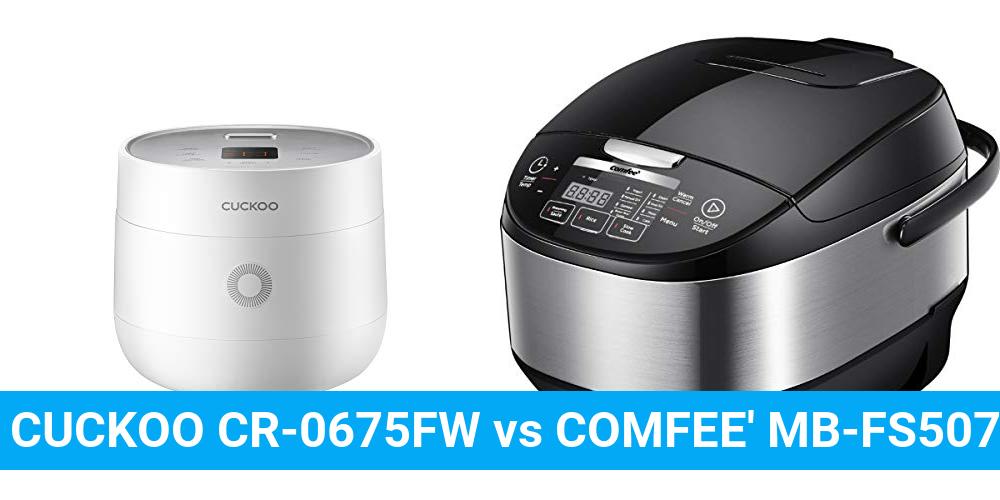 CUCKOO CR-0675FW vs COMFEE' MB-FS5077