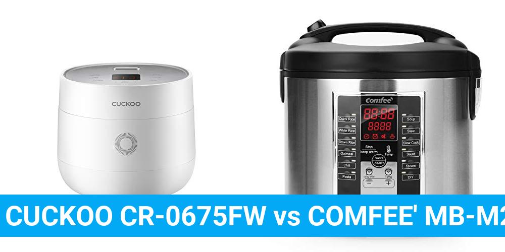 CUCKOO CR-0675FW vs COMFEE' MB-M25
