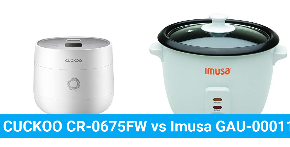 CUCKOO CR-0675FW vs Imusa GAU-00011