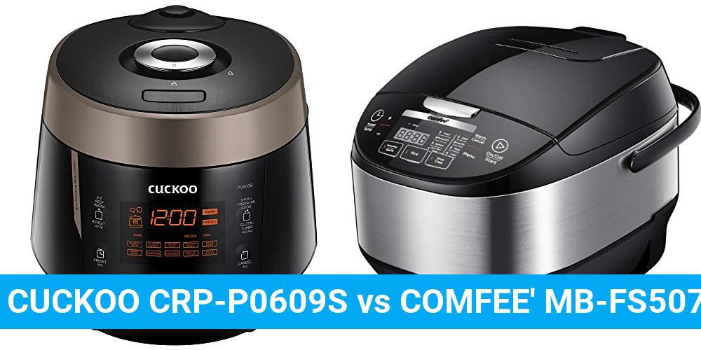 CUCKOO CRP-P0609S vs COMFEE' MB-FS5077