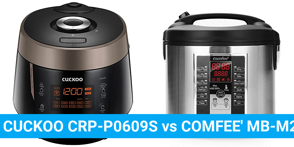 CUCKOO CRP-P0609S vs COMFEE' MB-M25