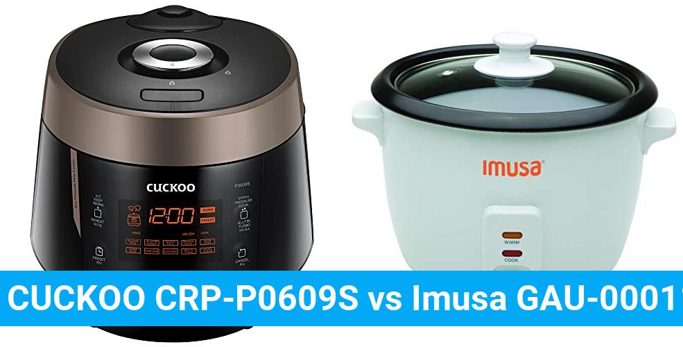 CUCKOO CRP-P0609S vs Imusa GAU-00011