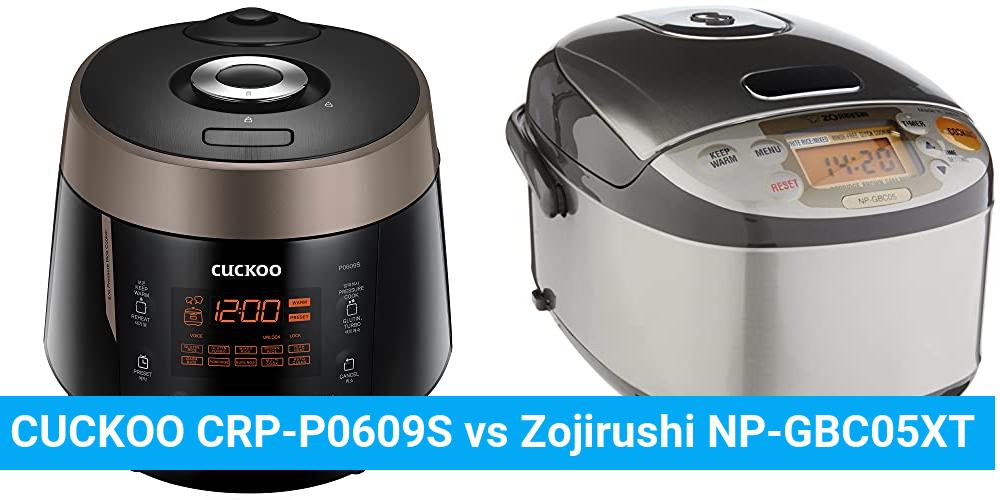 CUCKOO CRP-P0609S vs Zojirushi NP-GBC05XT