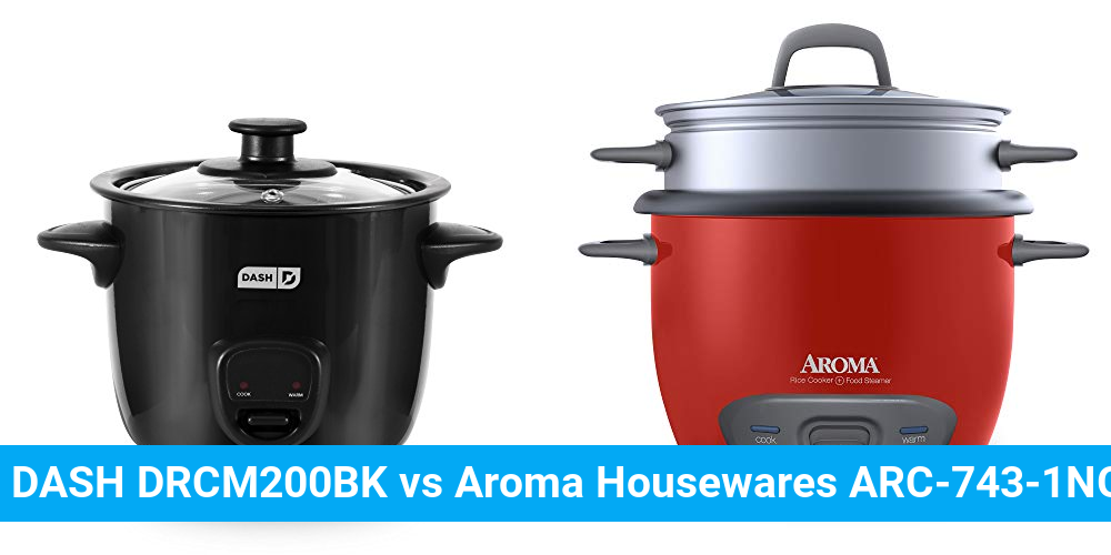 DASH DRCM200BK vs Aroma Housewares ARC-743-1NGR