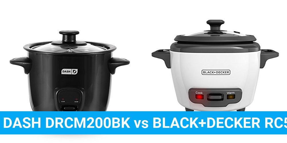 DASH DRCM200BK vs BLACK+DECKER RC503