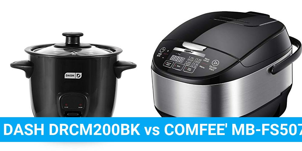 DASH DRCM200BK vs COMFEE' MB-FS5077