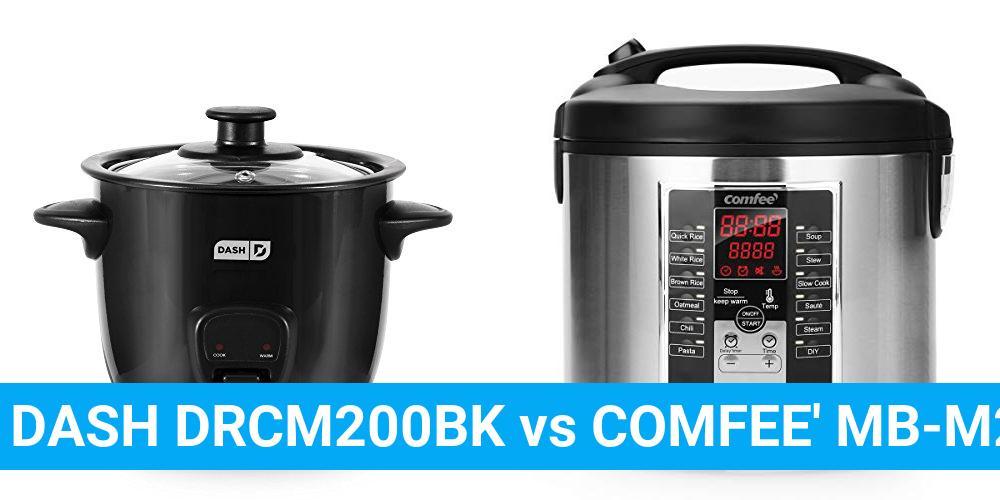 DASH DRCM200BK vs COMFEE' MB-M25
