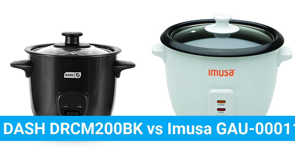 DASH DRCM200BK vs Imusa GAU-00011